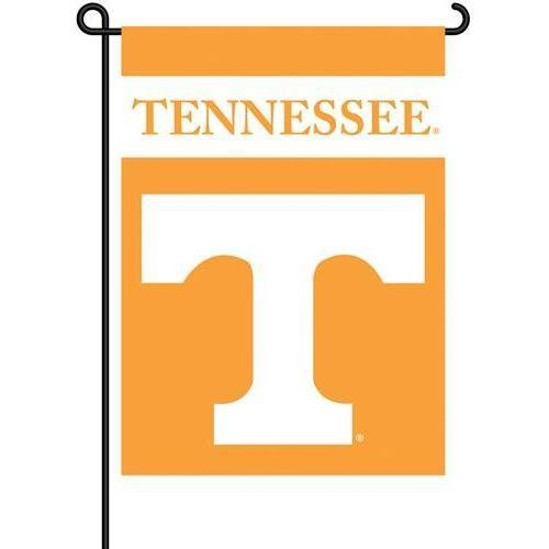 "Bsi Ncaa Outdoor Sports Team Logo Design Decorative Tennessee Volunteers 2-Sided 13"" X 18"" Garden Flag Yard Banner"