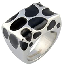 buy Gnzoe Jewelry, Stainless Steel Ring Dot Class Rings Black Size 7 Wedding Bands For Men