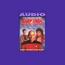 Star Trek, The Next Generation: Q-in-Law (Adapted)  by Peter David Narrated by Majel Barrett, John de Lancie