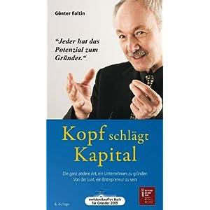 eBook Cover für  Kopf schl xE4 gt Kapital H xF6 rbuch Die ganz andere Art ein Unternehmen zu gr xFC nden Von der Lust ein Entrepreneur zu sein