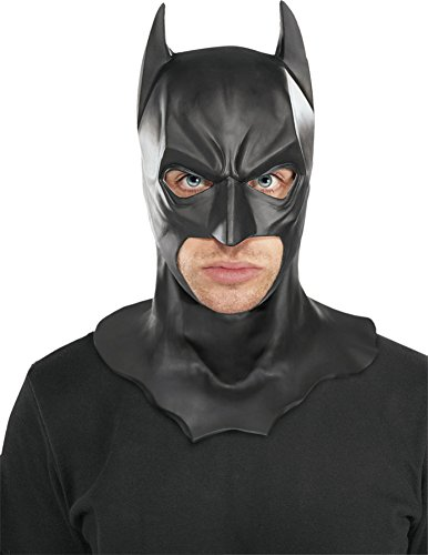 Batman Full Dark Knight Rises Superhero Latex Adult Halloween Costume Mask