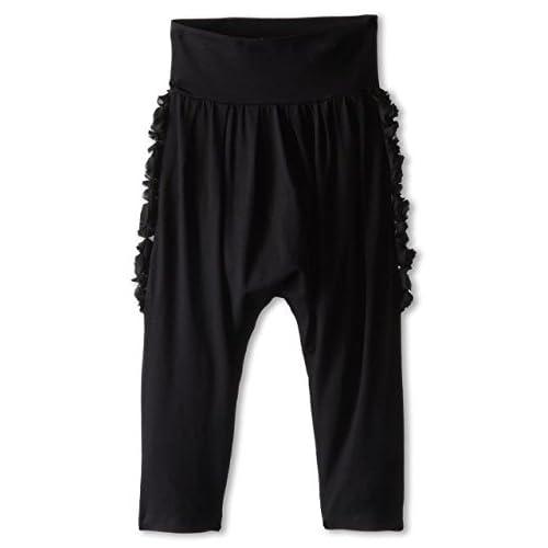 Jean Paul Gaultier ジャンポール・ゴルチエ Junior Gaultier Side Rosettes Harem Pants (Toddler/Little Kid) Womens パンツ ボトムス Black ブラック 【並行輸入品】