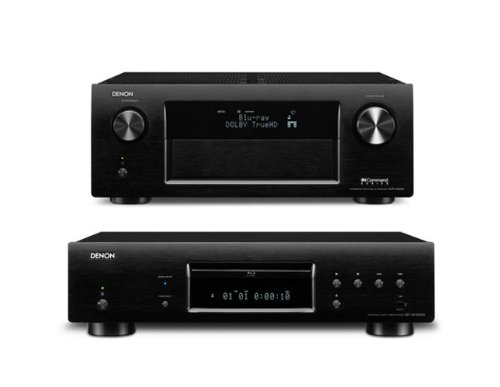 Denon Avr-X4000Ci 7.2 Channel Integrated Network Av Receiver And Dbt-3313Udci Blu-Ray Disc Player Bundle