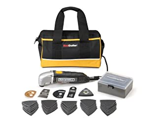 Rockwell RK5101K SoniCrafter 37-Piece Oscillating Tool Kit