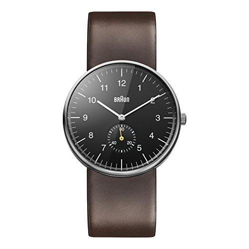 Braun Men's BN0024BKBRG Classic Analog Display Japanese Quartz Brown Watch (Braun Quartz Watch compare prices)