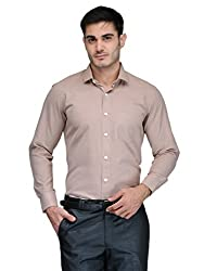 Harvest L.Brown 100 % Cotton Shirt for Men