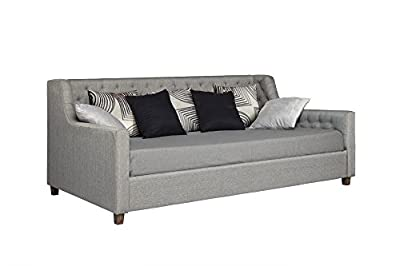 DHP 4030439 Jordyn Upholstered Daybed, Twin, Gray