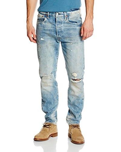 Levi's Jeans 501 Customized & Tapered [Blu Chiaro]