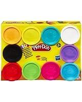 Hasbro - A1403359 - Pâte À Modeler - 10 Pots Couleurs Play Doh