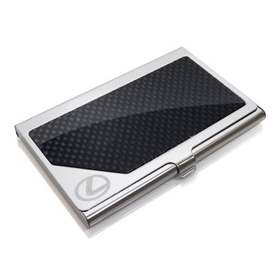 Lexus Carbon Fiber Business Card Holder