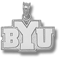 Brigham Young University BYU 1 2 - 14K Gold by Logo Art