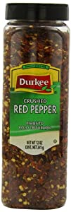 Durkee Crushed Red Pepper, 12 oz containers, (Pack of 3)