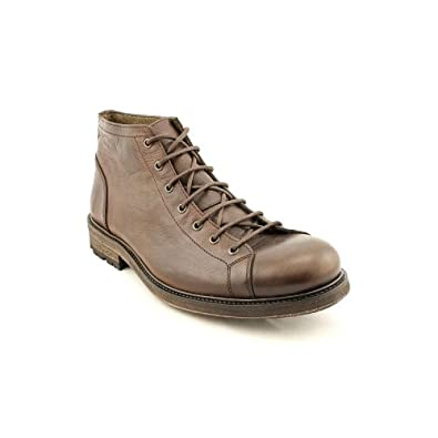Kenneth Cole NY Tall Order Mens Size 11 Brown Leather Casual Boots