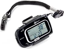 Ozeri 4x3razor Digital Pocket 3D Pedometer with Bosch Tri-Axis Technology from Germany, Black