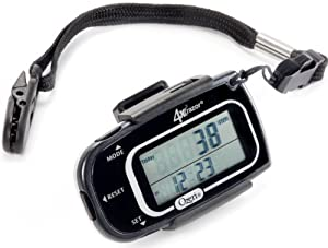 Ozeri 4x3razor Digital Pocket 3D Pedometer with Bosch Tri-Axis Technology from Germany