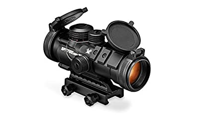 Vortex Optics SPR-1303 Spitfire 3x Prism Scope with EBR-556B Reticle (MOA), Black by Vortex Optics
