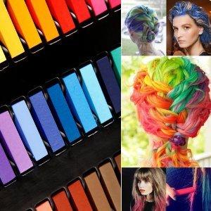 Haarkreide 24 Farben Set Hairchalk Haar