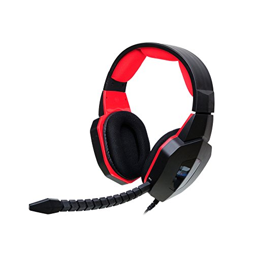 HAMSWAN Stereo Gaming Headset Wired for Pro Gamers with Plug-in Microphone