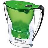 BWT Penguin Tischwasserfilter 2,7l, grün, mit einer Kartusche Magnesium Mineralizer, Wasserfilter für Leitungswasser