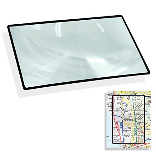 4.5″ x 7″ Flexible 200% Magnifier Sheet