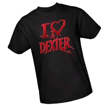 I Heart Dexter -- Dexter Adult T-Shirt, XX-Large