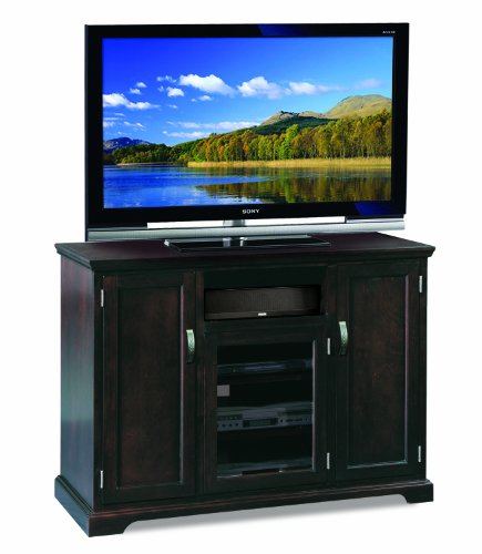 Leick Riley Holliday TV Stand, 50-Inch Tall, Chocolate Cherry picture B005NJXLAE.jpg