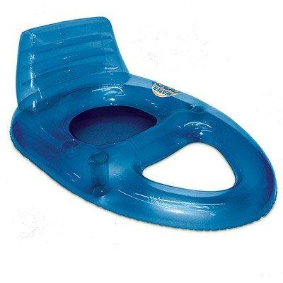 Poolmaster Deluxe Water Pop Pool Lounger Blue by Poolmaster