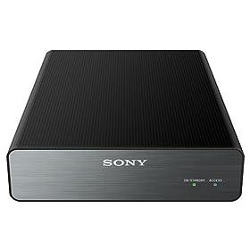 ソニー TV録画用 据え置き型外付けHDD(2TB) ブラック 縦置き・横置き自由なアルミパネル付 HD-U2