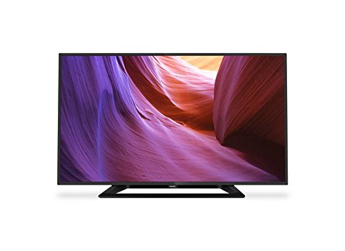 Philips 4000 series Slim LED TV - LED TVs (HD ready, A+, 4:3, 16:9, Black, 1366 x 768 pixels, PMR (Perfect Motion Rate))