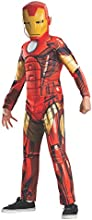 Rubies Costume Marvel Universe Classic Collection Avengers Assemble Deluxe Muscle-Chest Iron Man, 44-48-Inch Tall
