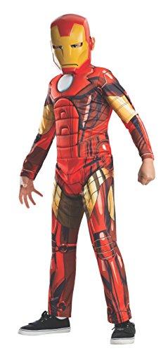 IRON MAN Kinder Kostüm mit Maske (Größe S) Avengers Assemble
