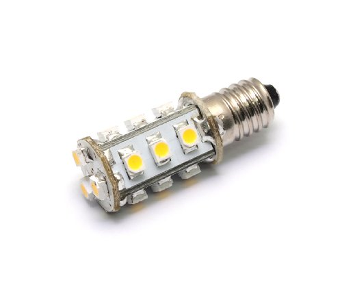 12Vmonster ® E10 Miniature Es Edison Screw Fitting 15X Led Cluster Light Bulb 12 Volt To 24 Volt #1447 Lionel Replacement