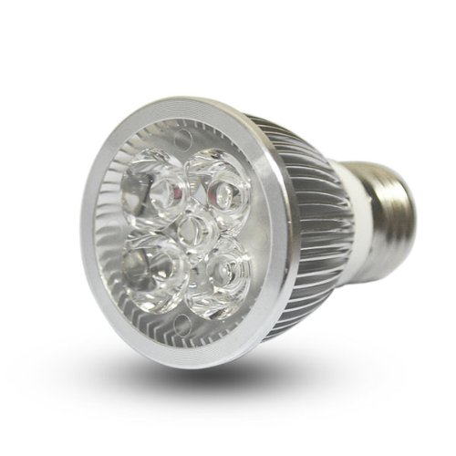 Zono® Ac 110-220V E27 5X1W 5W 400 Lumen Led Light Bulb Lamp Non-Dimmable