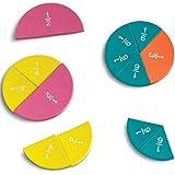 Magnetic Foam Rainbow Fraction® Circles