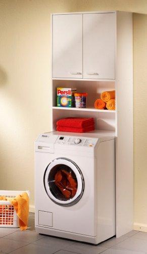 badm bel test hochschrank waschmaschinenschrank bad wei. Black Bedroom Furniture Sets. Home Design Ideas