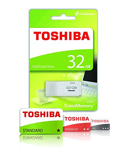 Toshiba TransMemory U202 32 GB USB 2.0 Flash Drive - White