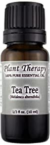 Tea Tree Melaleuca Essential Oil. 10 ml. 100 Pure Undiluted
