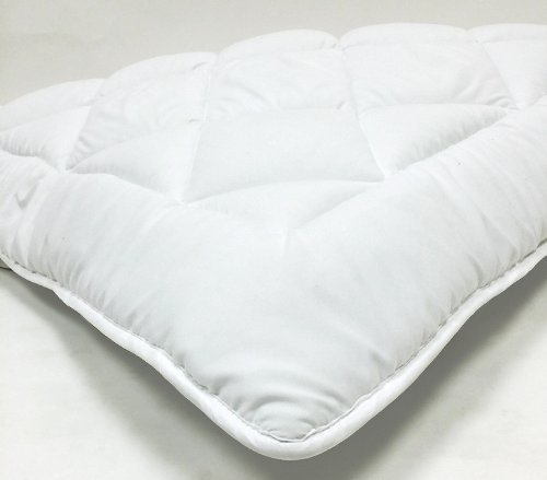 "Fully Reversible (Double Life)-1"" Down Alternative Mattress Topper / Pad- W/ Stay Tight Anchor Straps - Exclusively By Blowout Bedding - Twin Xxl"