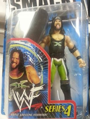 X-PAC WWF SMACK DOWN SERIES 4 REAL SCAN ACTION FIGURE - 1
