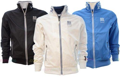 Mens Crosshatch Designer Branded Windbreaker Track Jacket Top S M L XL XXL