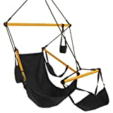 Castaway Swing Chair, Black