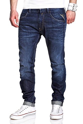 Replay Jeans MASIG M919.000.525.630 – Dunkelblau