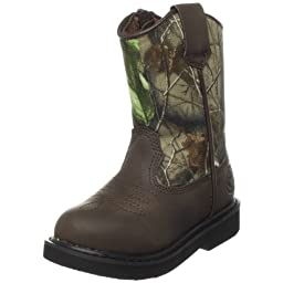 Duck Head Toddler Lil Dustin Boot,Camo,7 M US Toddler