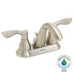 Speakman SB-1711-BN Chelsea Two Handle 4-Inch Centerset Bathroom Faucet, Brushed Nickel