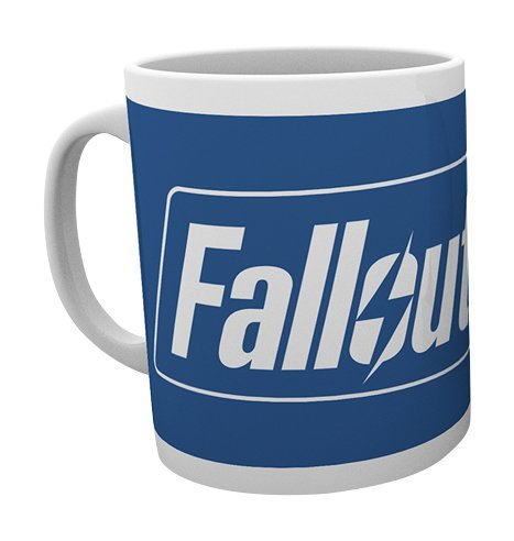 GB Eye Ltd, Fallout 4, Logo, Tazza