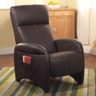 Tms Addin Recliner, Chocolate front-446503