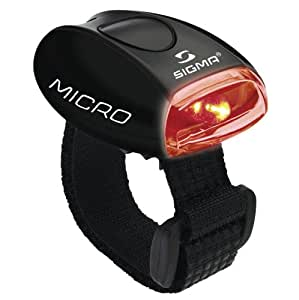 SIGMA SPORT Sport-Beleuchtung LED-red, Micro black, 17235