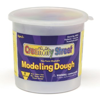 Modeling Dough 8 Colors -- Case of 4