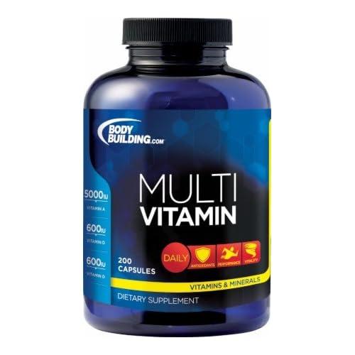 Amazon.com: Bodybuilding.com Foundation Series Multivitamin 200