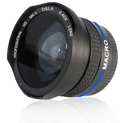 Panoramic Lens Nikon Lens For The Nikon D3200